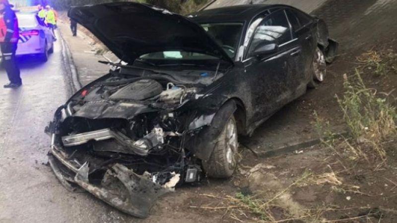 Mahir Ünal'ın makam aracı kaza yaptı: 4 yaralı