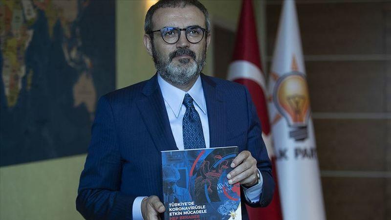 Mahir Ünal tanıttı: AK Parti'den 'koronavirüsle mücadele' kitabı