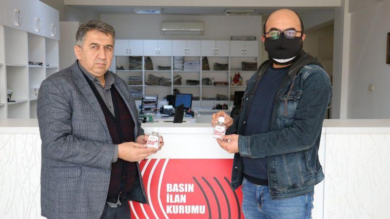 Basın İlan Kurumundan gazetecilere el dezenfektanı