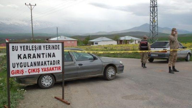Afşin'de bir mahalleye koronavirüs karantinası
