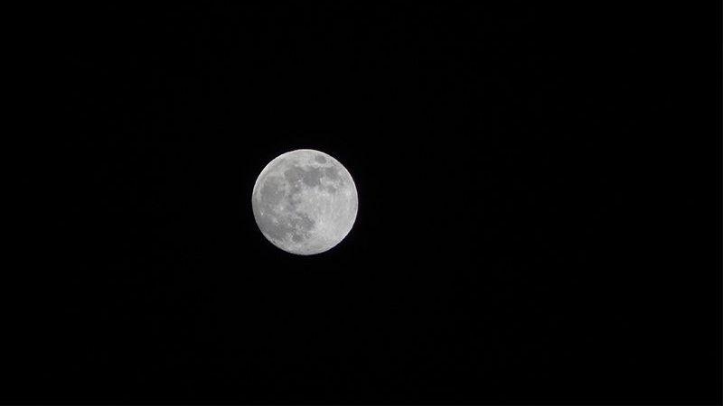 Süper Ay Elbistan'da da görüntülendi