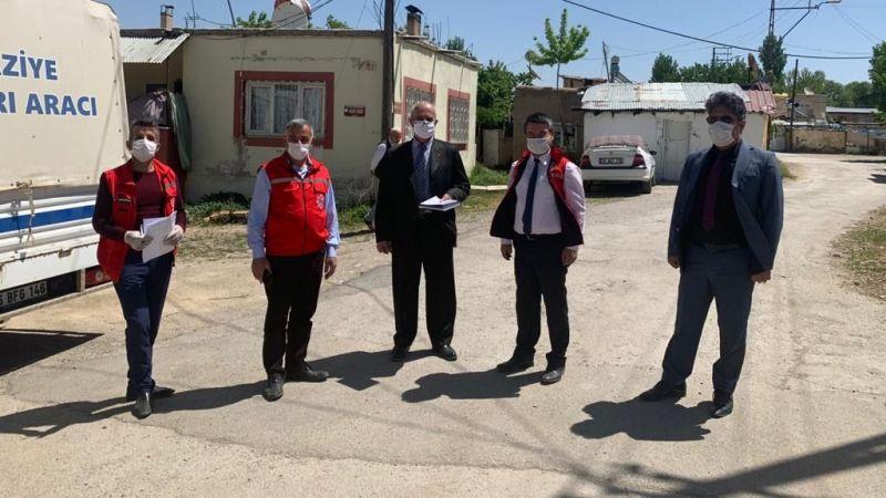 Büyükşehir'in Elbistan'da gıda desteği devam ediyor