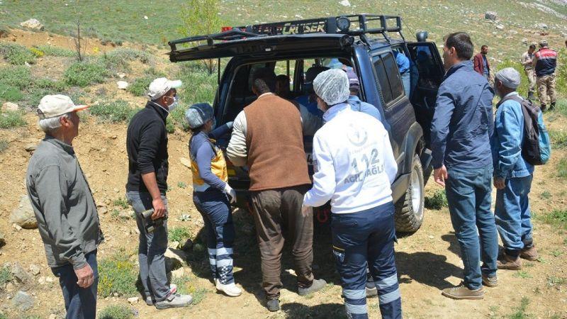 Dağda kaybolan yaşlı adamın cansız bedenine ulaşıldı