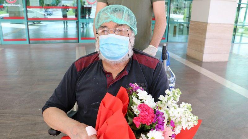 74 yaşında koronavirüsü ikinci kez yendi