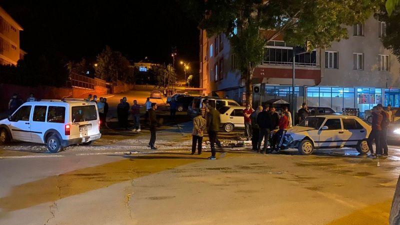 Elbistan'da kaza ucuz atlatıldı