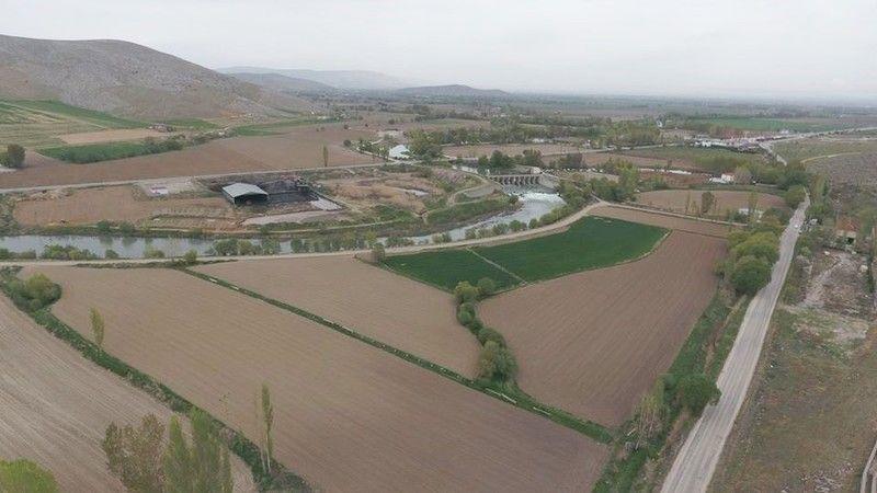 Elbistan'daki binlerce çiftçinin 8 yıllık su hasreti sona erdi