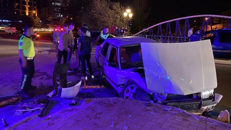 Elbistan'da bir trafik kazası daha: 1 yaralı