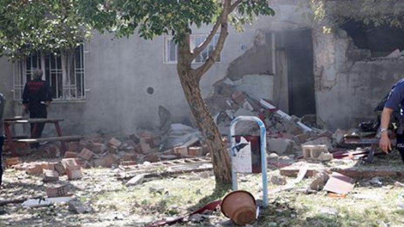 Bir evde patlama meydana geldi: 1 ağır yaralı