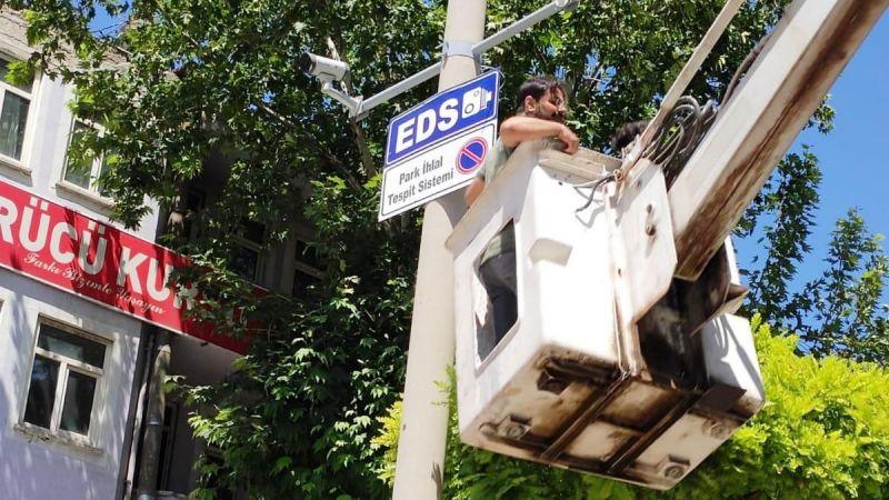 Elbistan'da EDS sistemi hayata geçti: Sürücülerine ceza yazılacak
