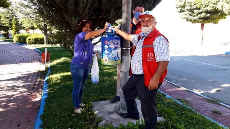 Elbistan Belediyesi mavi kapak projesi başlattı