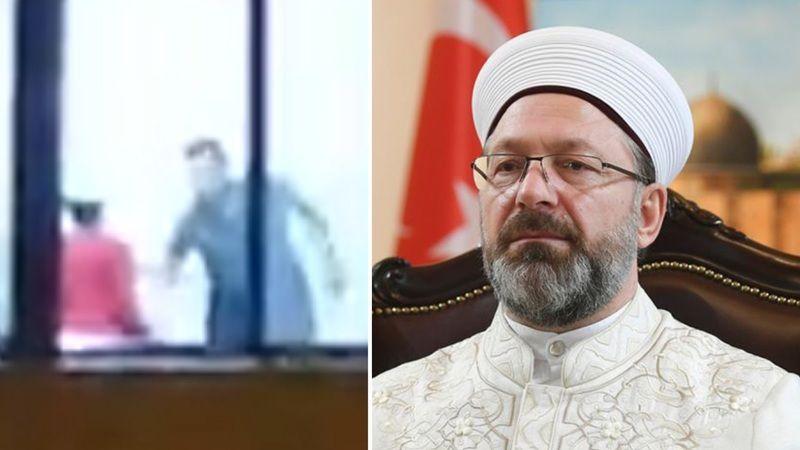 Erbaş'tan Elbistan'daki Kur'an kursunda şiddet olayına ilişkin soruşturma talimatı