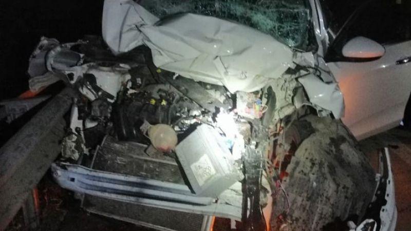 Elbistan'da feci kaza! Traktöre arkadan çarptı: 2 yaralı