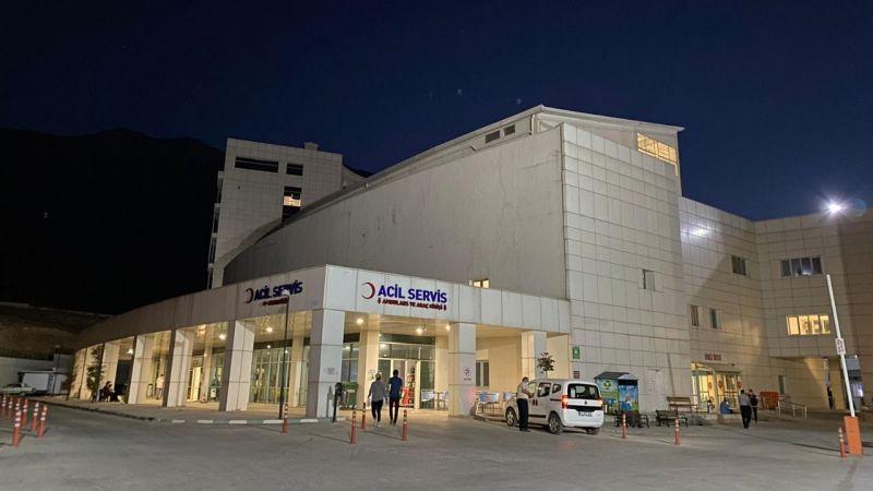 Elbistan'da silahla vurulan genç çocuk ağır yaralandı