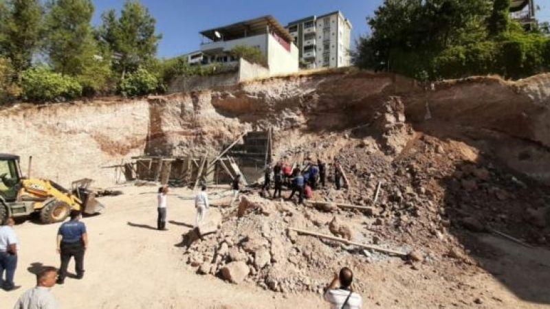 İnşaat temeli çöktü! Göçük altında kalan 2 işçi hayatını kaybetti