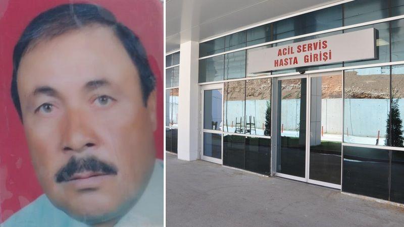 Nefes darlığı şikayetiyle hastaneye gitmişti: Elbistan'da 63 yaşındaki adam evinde ölü bulundu