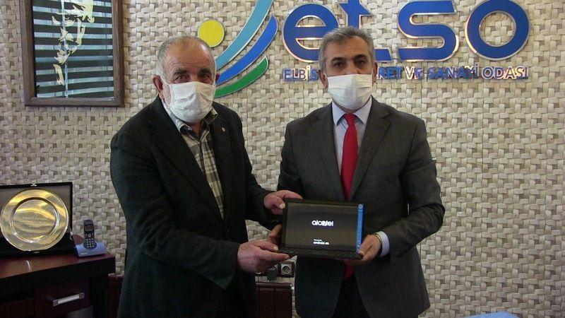 ETSO'dan Elbistan'daki 62 öğrenciye tablet hediyesi