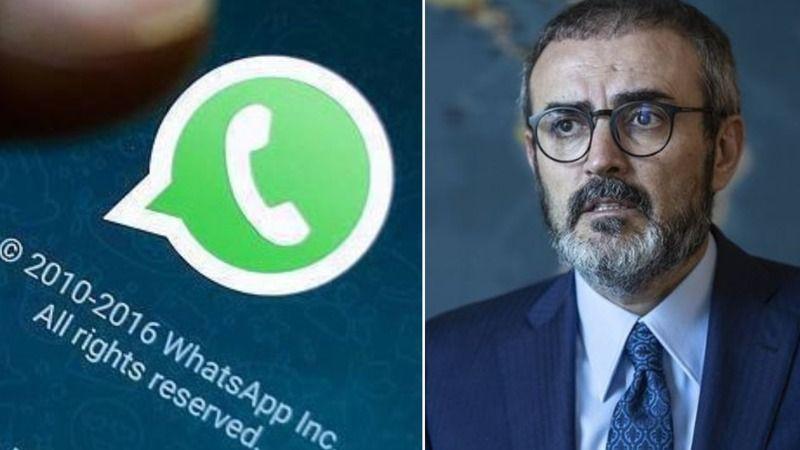 Mahir Ünal'dan WhatsApp açıklaması: Özgürlüğümüzü istiyor