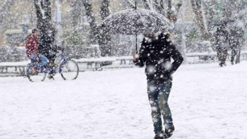 Meteoroloji'den Elbistan için sağanak kar yağışı müjdesi!