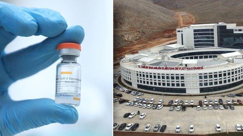Elbistan'da ilk koronavirüs aşısı yarın yapılacak