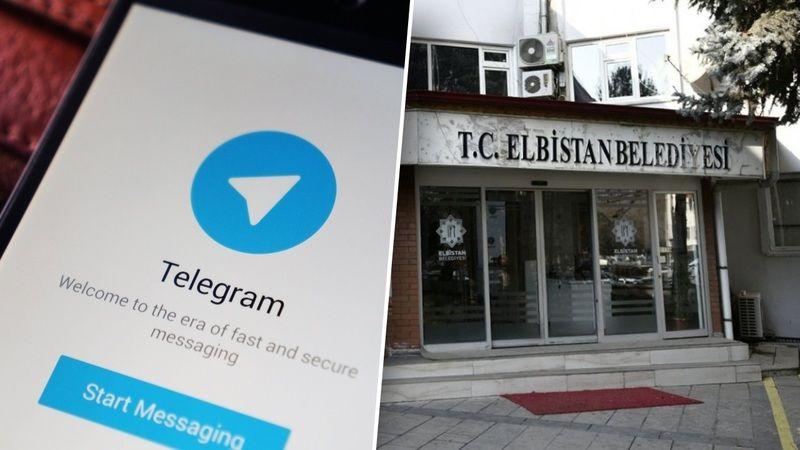 Elbistan Belediyesi Telegram kanalı aktif edildi
