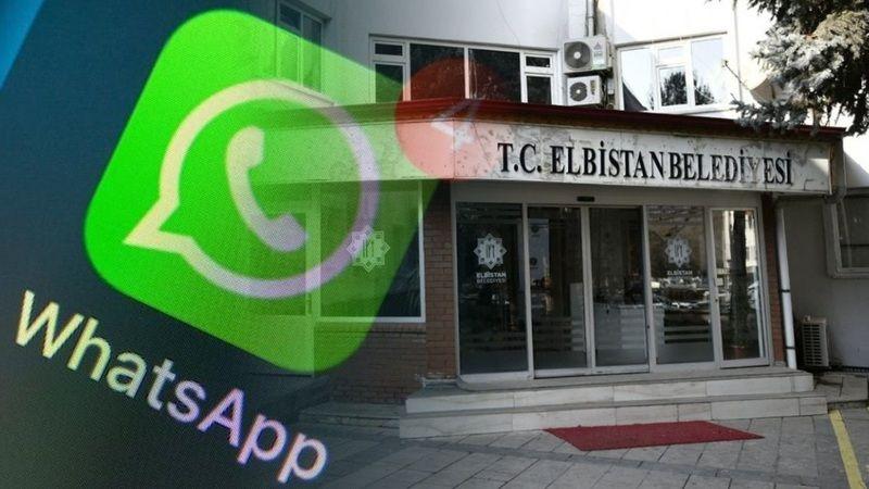 Elbistan Belediyesi'nden whatsapp çözüm hattı uyarısı