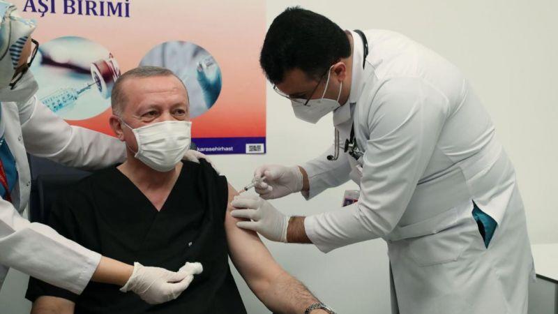 Cumhurbaşkanı Erdoğan Telegram'dan paylaştı: Ben de aşı oldum!