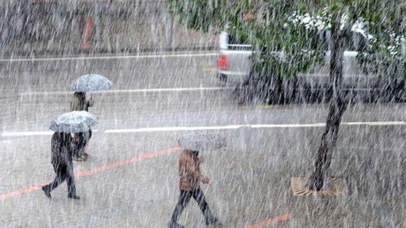 Meteoroloji'den sarı kodlu uyarı! Elbistan Belediyesi teyakkuza geçti