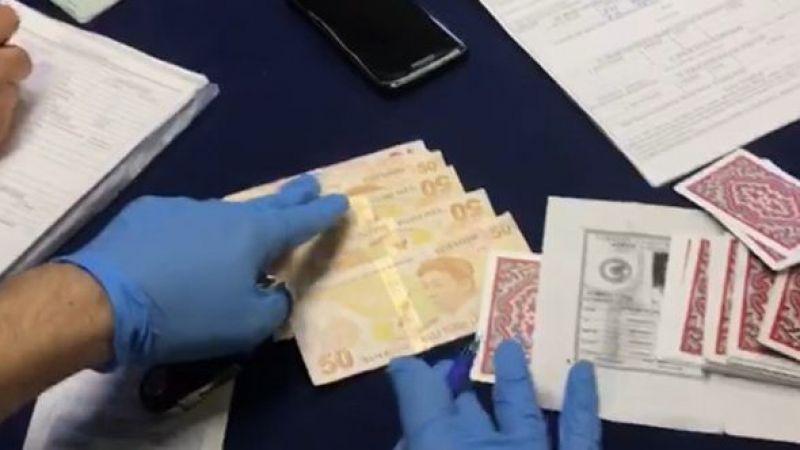 Elbistan'da kumar oynayan kişilere ceza yağdı
