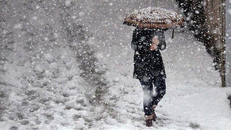 Elbistan'a uyarı: Sağanak kar yağışı geliyor