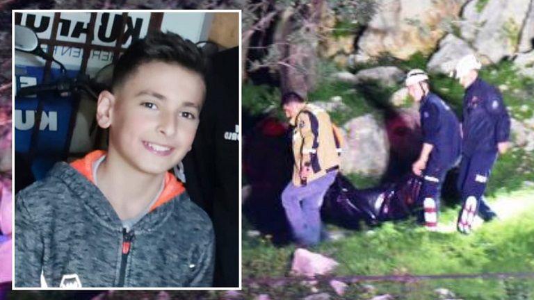 Elbistanlı çocuğun cansız bedeni kayalıklarda bulundu