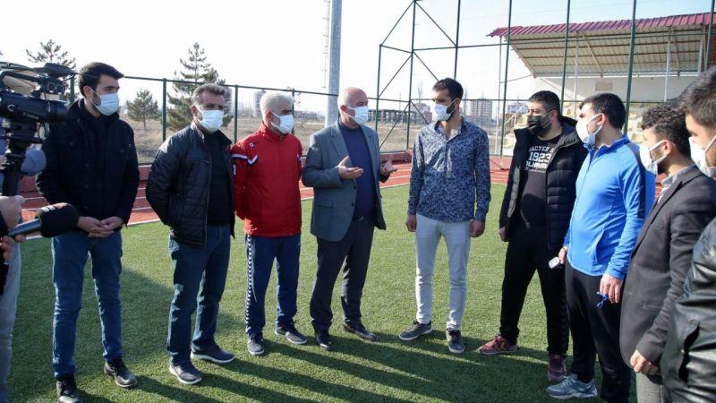 AK Parti'den Elbistanspor'a önemli destek