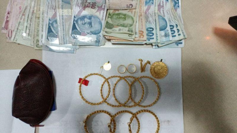 Elbistan'da yaşlı adamın 250 bin liralık altınını çalan kadın yakalandı