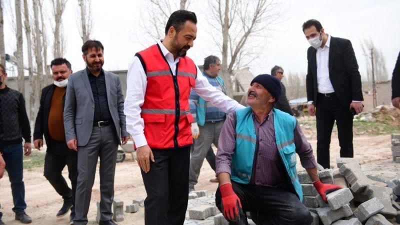 Başkan Gürbüz: Elbistan'da 2021 yılı, kırsal mahalle yılı olacak