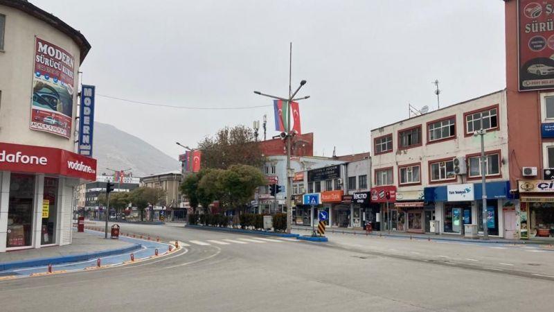 Elbistan'da hafta sonu sokağa çıkma kısıtlaması uygulanacak