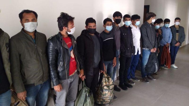 Kaçak göçmenleri İstanbul diye Kahramanmaraş'a bırakmışlar