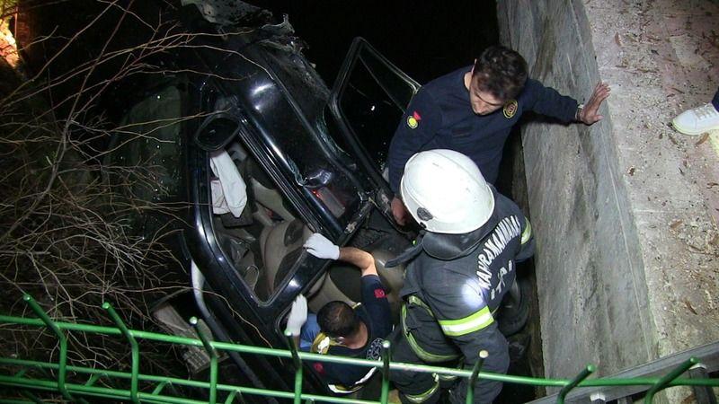 Elbistan'da otomobil su kanalına düştü: 1 ölü