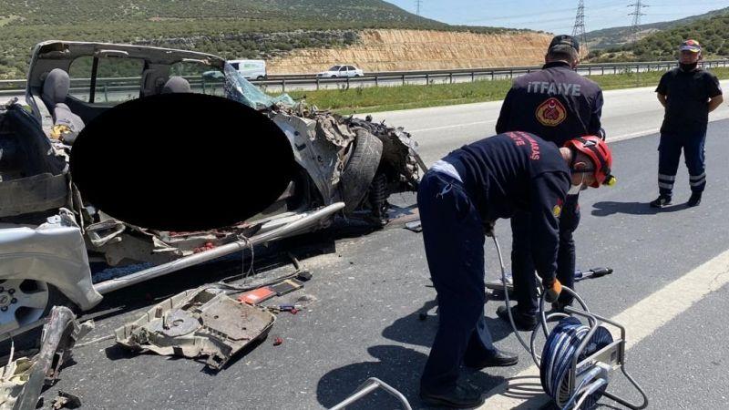 Kahramanmaraş'ta feci kaza! Pikap tıra çarptı: 1 ölü 2 yaralı