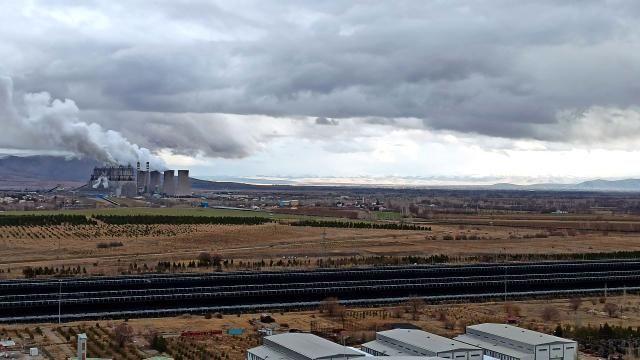 Afşin Elbistan B Termik Santrali'ne binlerce kilometreden kömür taşınıyor