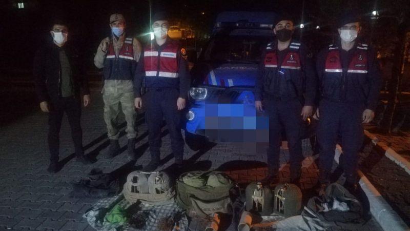 Elbistan'da yasaklara uymayan avcılara ceza yağdı