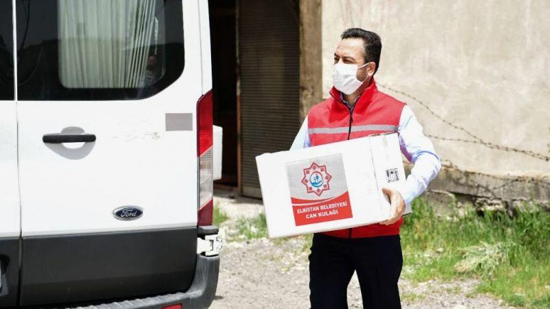 Başkan Gürbüz: 15 bin gıda kolisi dağıttık