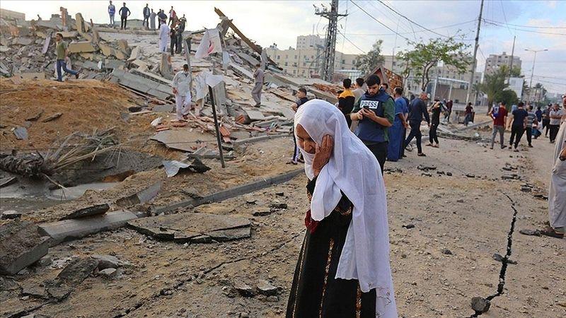 Terör devleti İsrail'in saldırıları sürüyor: Şehit sayısı 103'e yükseldi 508 yaralı