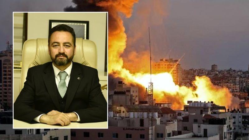 Başkan Gürbüz: İsrail insanlık ve savaş suçu işlemektedir
