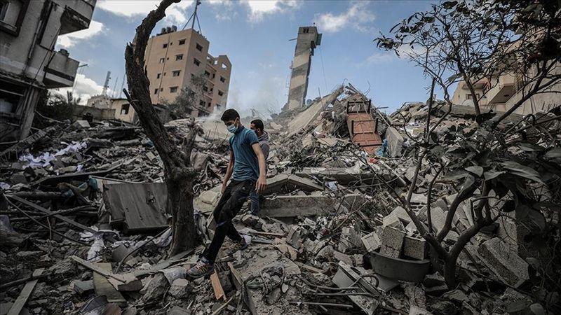 Terör devleti İsrail'in saldırıları sonucu Gazze'de şehit sayısı 227'ye yükseldi