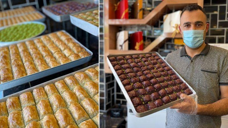Begonvil Elbistan'da üretti, artık şeker hastaları da tatlı yiyebilecek!