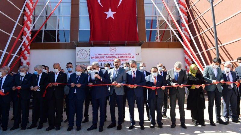 Mahir Ünal, 39 yatak kapasiteli rehabilitasyon merkezinin açılışını yaptı