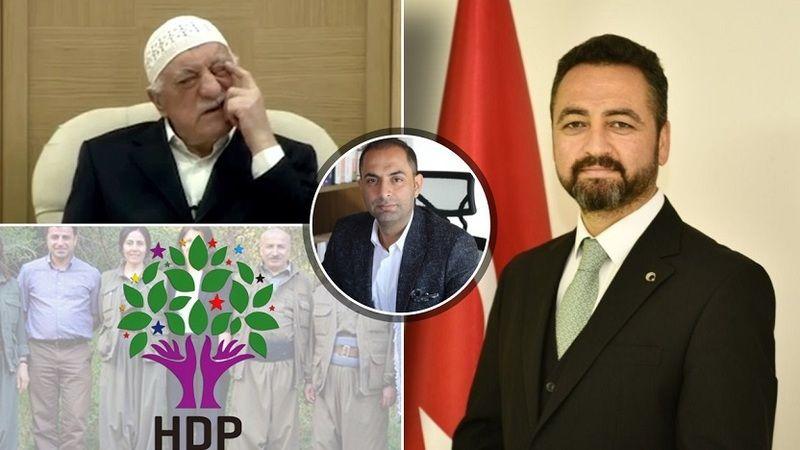 Başkan Gürbüz'e iftira atan gazeteciyi FETÖ'nün ve HDP'nin desteklediği ortaya çıktı