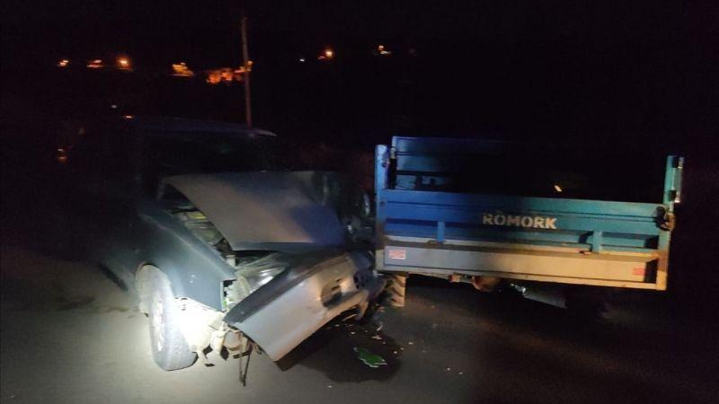 Nurhak'ta feci trafik kazası: 1 ölü