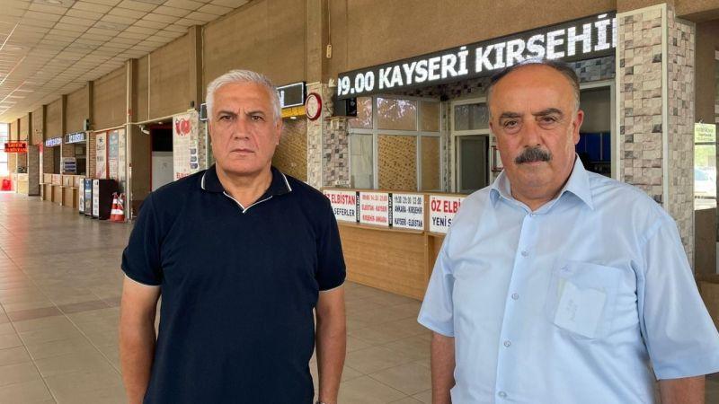 Öz Elbistan ve Lider Elbistan'dan ortak açıklama: Yeni terminal binamıza taşınacağız
