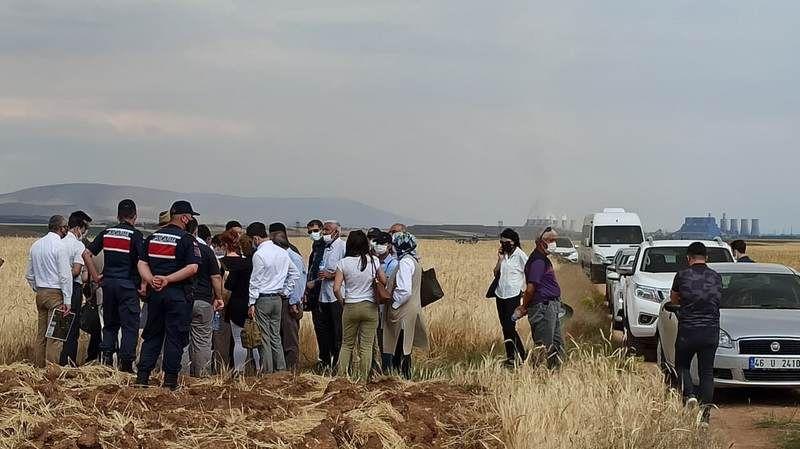 Afşin ve Elbistan halkı C Termik Santrali'ne karşı çıktı