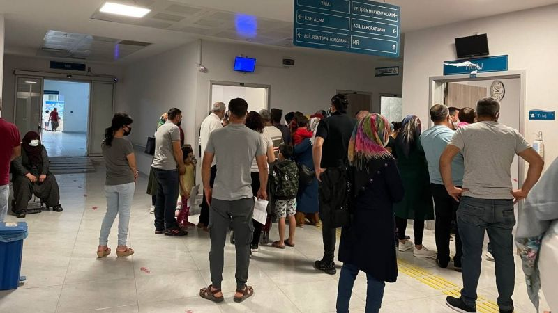 Elbistan'da hastaneler dolup taşıyor, sağlık müdürlerinden tık yok!